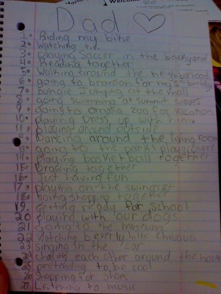 ash's list