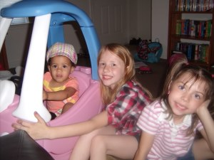 Ella, Ash, and Tara